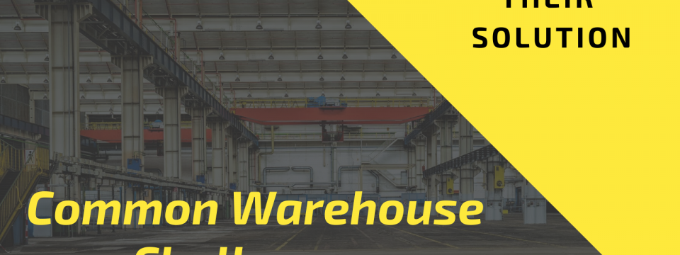 Common Challenges that Occurred with Warehouse and Their Solution
