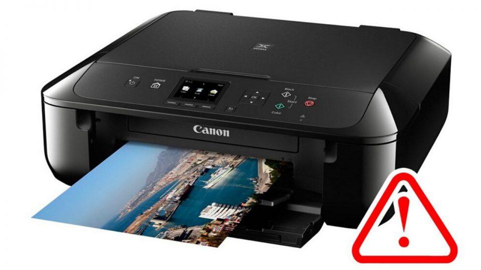 canon printer offline mac