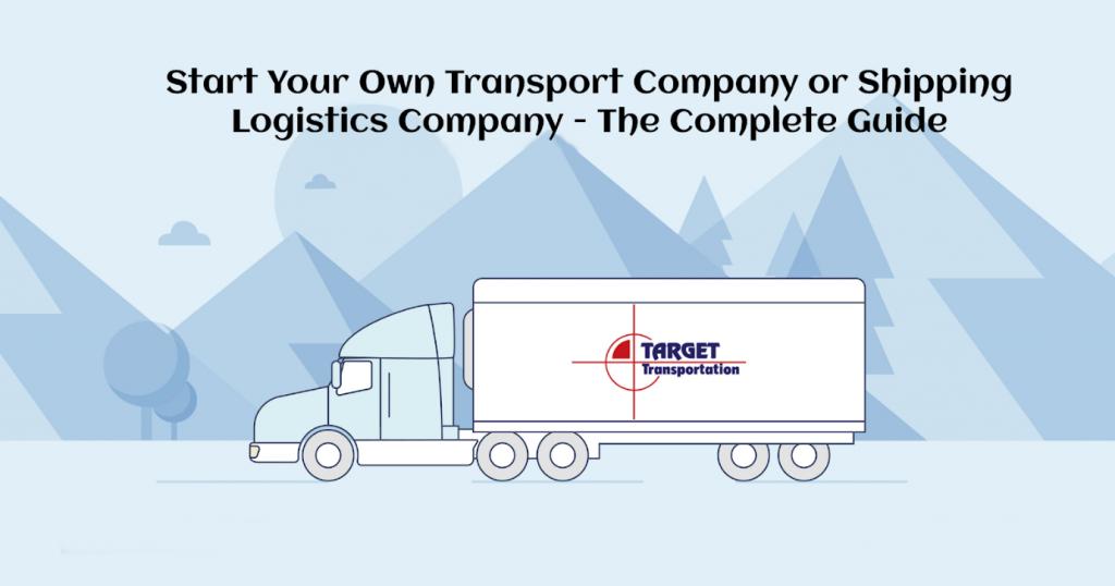 shipping logistics company guide