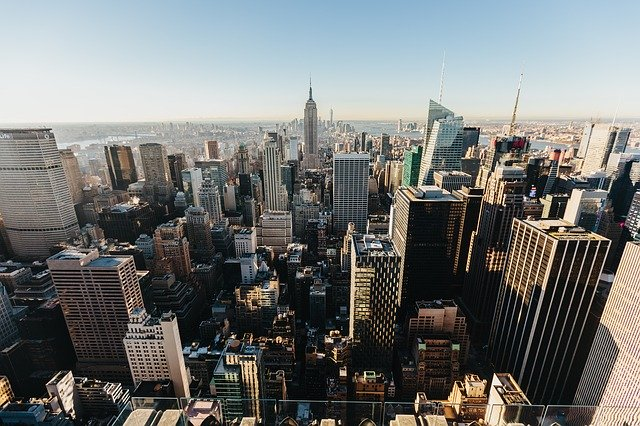A scenic view of NYC