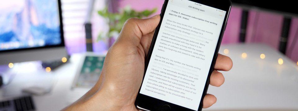 writing-app-smartphones