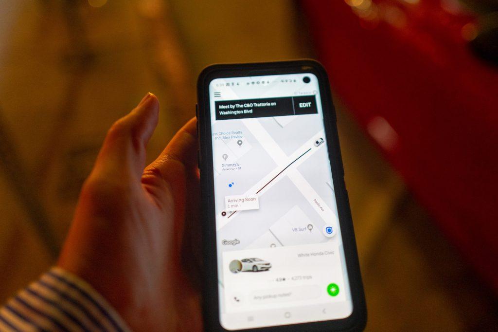 uber clone application