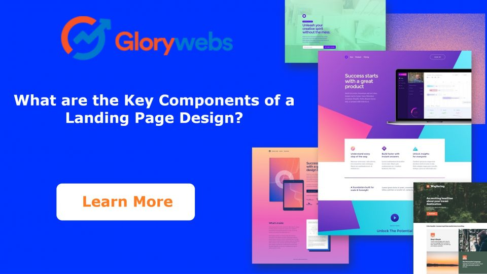 components of landing page design
